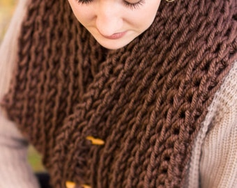 Brown Winter Cowl