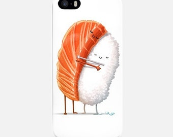 Sushi Lovers iPhone Case, iPhone 6 Case Funny, iPhone 7 Case, iPhone 7 Plus Case, iPhone 5s Case, iPhone 5C Case, Phone Case, iPhone 4 Case