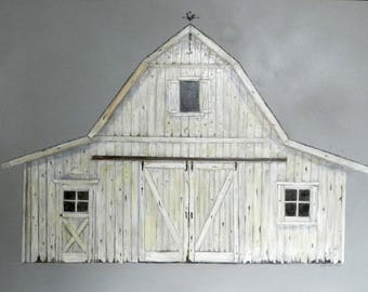 Whitewash barn
