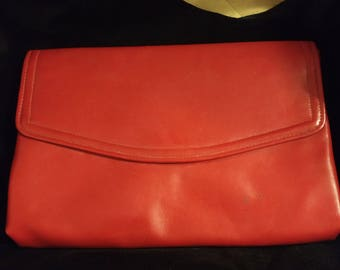 1970's Red Clutch