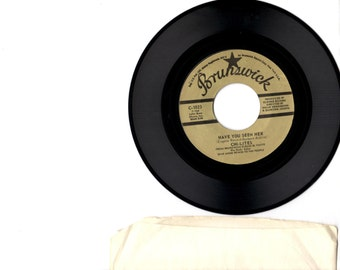 Rare Funk Soul 45 The Chi-Lites Have you seen her?/Yes I'm Ready on Brunswick