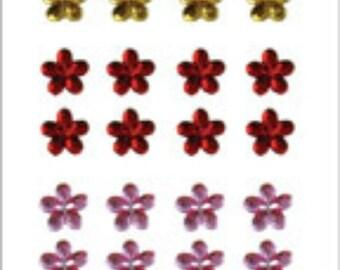 SALE  Hero Arts  Sparkle Gems Small Blossoms CH140