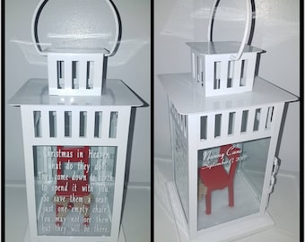 Christmas In Heaven Chair Lanterns