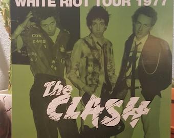 The Clash (VINYL) - White Riot Tour 1977 (LIVE/ Import/Fan Club pressing)