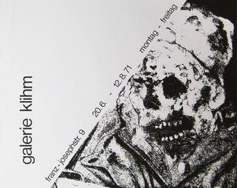 "Otto Dix - ""der Krieg"" - Original Screenprint - 1971"
