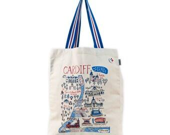 Cardiff Cityscape Totebag