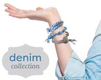 Friendship bracelet- sea foam