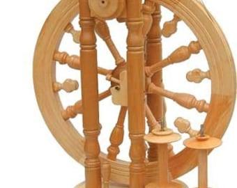 Kromski Minstrel Spinning Wheel Unfinished Free Shipping