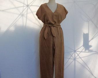 Vintage Silk Pantsuit