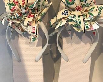 Mahjongg Flip Flops all adult sizes