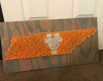 Tennessee Vols string art