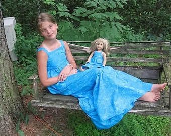 Summer Dress for Girls and Their American Girl Dolls