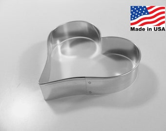 Heart 4.25 Inch  Metal Cookie Cutter