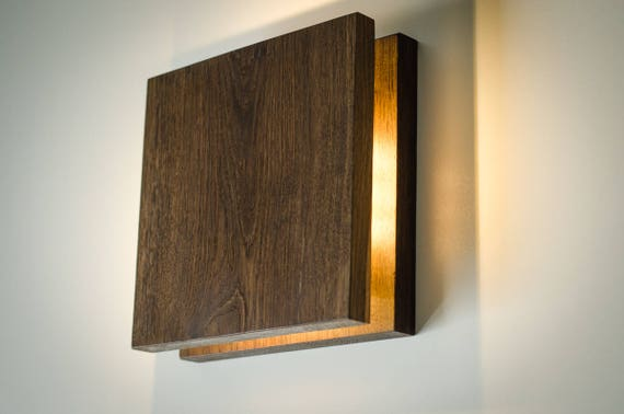 Wall lamp sc199 handmade wood lamp plug in wall sconce aloadofball Gallery
