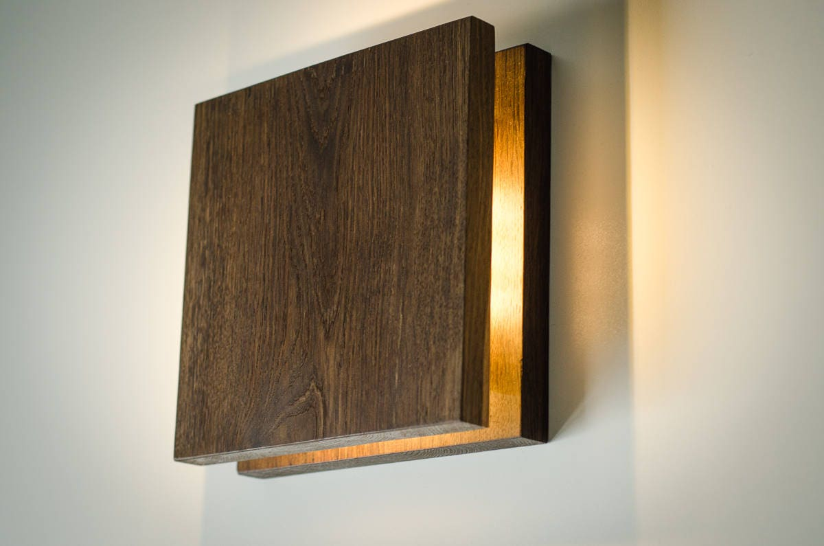 Description. 'SC' Sconce Wooden wall ...