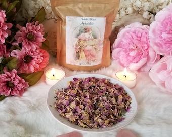 Aphrodite Love Tea,  Herbal Tea Blend, Certified Organic Herbal Tea