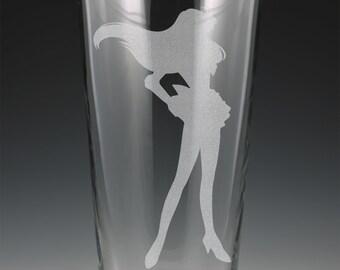 Sailor Mars Pint Glass
