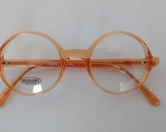 Vintage Missoni 861 74F glasses with demo lens