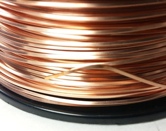 10 gauge copper wire square wire center copper wire 14 gauge dead soft solid copper wire jewelry quality rh etsystudio com standard wire greentooth Image collections