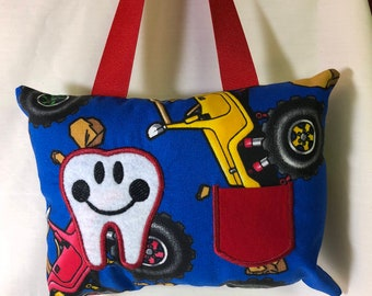Tooth fairy pillow with pocket