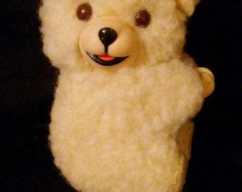 Vintage 1980s SNUGGLE Fabric Softener Clip On Thumb Hugger Bear!!!