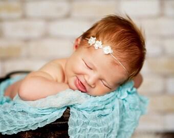 Myrah-Cream Babies Breath Headband