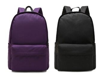 Nylon Backpack,Rucksack,Travel Bag,School Bag, Backpack, Colorful School Backpack 7 Colors