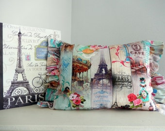 Paris Lovers  Brocante Pillow so lively and chic!