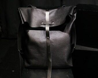 Black backpack classic backpack leather backpack work backpack laptop backpack tablet backpack men backpack woman backpack large backpack
