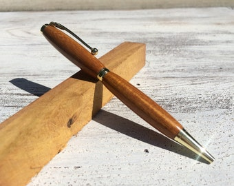 Hand Turned Osage Orange Wood Pen
