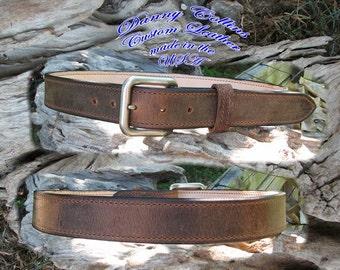 Premium Buffalo Leather Belt, Men's Leather Belt, Qality Leather Belt