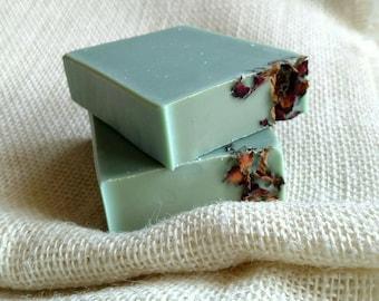 Flower Child Bar Soap by A&A Soaps - patchouli soap - vegan soap - coconut milk soap - sweet patchouli - natural soap - lye soap