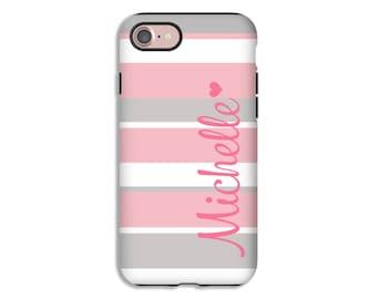Monogram iPhone 8 case, iPhone 8 Plus case, iPhone X case, iPhone 7/7 Plus case, iPhone 6s Plus/6s case/6 Plus/ 6 case, iPhone cover 3D