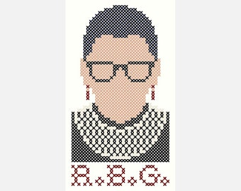"""R.G.B. - Original Cross Stitch Chart 