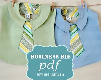 Business Bib PDF Sewing Pattern