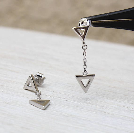 Earrings are made of Silver 925