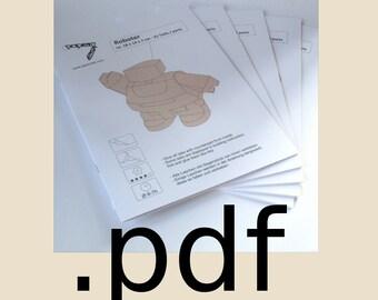 Five Booklets Papercraft PDF Set - DIY Templates