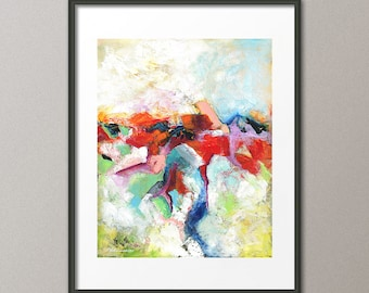 Gorgeous Fine Art Print Colorful Art Abstract Print Contemporary Modern Minimalist Large Prints