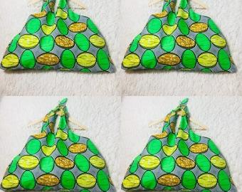 Wax knot bag