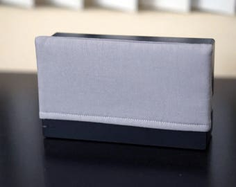 Gray Padded Dock Cover Made For Nintendo Switch