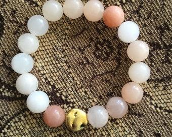 Rose Bead Bracelets