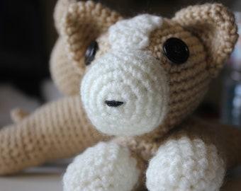 Crochet Corgi Plushie