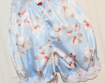 "Pure silk bloomers, utterly feminine, so soft, to 40"" waist, Sissy Lingerie"