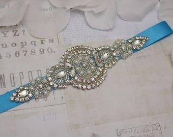 Turquoise belt, wedding belt, Bridal belt, turquoise  bridesmaid belt, flower girl belt,  turquoise flower girl belt, bridesmaids gift
