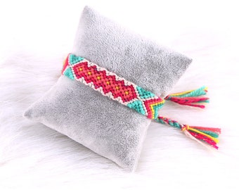 Woven Rope String Handmade Colorful Bracelet
