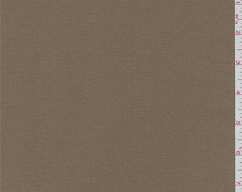 Caramel Brown Shirting, Fabric By The Yard