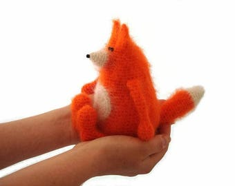 Crochet toy pattern Amigurumi fox pattern Crochet animal pattern DIY soft toy fox PDF amigurumi making fox /Ludwig the Ingenuous Fox