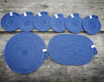 Coaster and Trivet Set