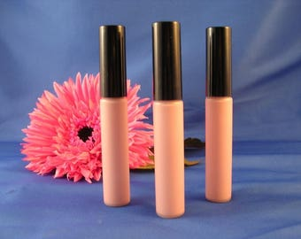 Natural Lip Gloss  Mineral Lip Gloss Goddess Glaze™ in AURA    Pale Pink Lip Gloss Non Toxic Lip Gloss Cruelty Free