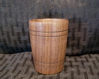 Handmade Wood Shot Glass